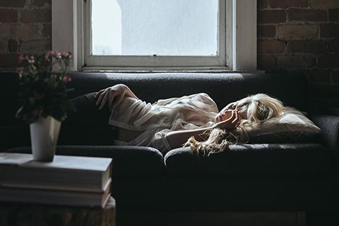Women Side Sleeping